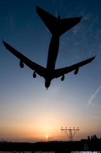 low plane