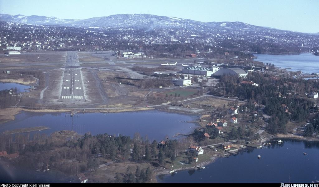 Fornebu Airport Oslo Norway Oslo 39 s Fornebu Airport Was
