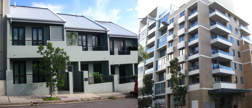 Which density is best for the Marrickville area?