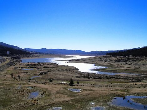 The drought gripping the valley has caused the water level in Wyangala dam drop to 6 per cen