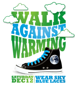 Walk Against Warming Shoe