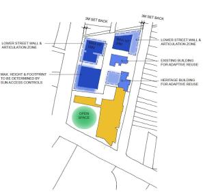 Amended Masterplan for the Old Marrickville Hospital Site, adopted 2015 following public exhibition