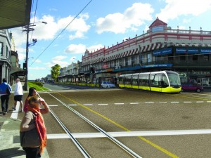 Greens plan for light rail to solve Parramatta Rd transport problems 2012