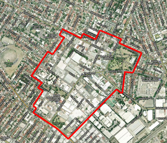 victoria-road-precinct-marrickville-google-map-saving-our-trees